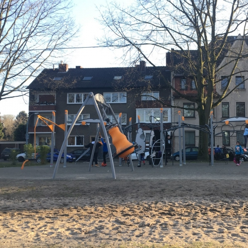 Bild 2: Auf der Insel / Goethestraße