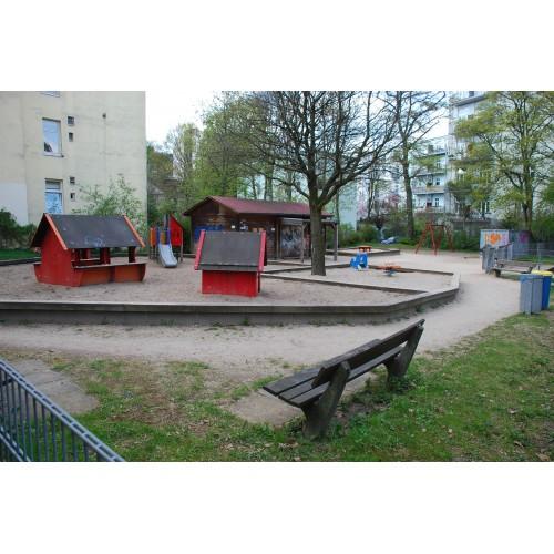 Bild 1: Bellealliancestraße Betreuter Spielplatz