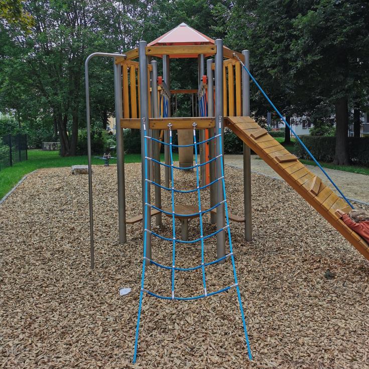 Bild 6: Spielplatz an der Blücherstraße