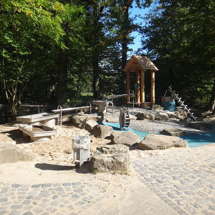 Bild 5: Spielplatz Burg Wissem