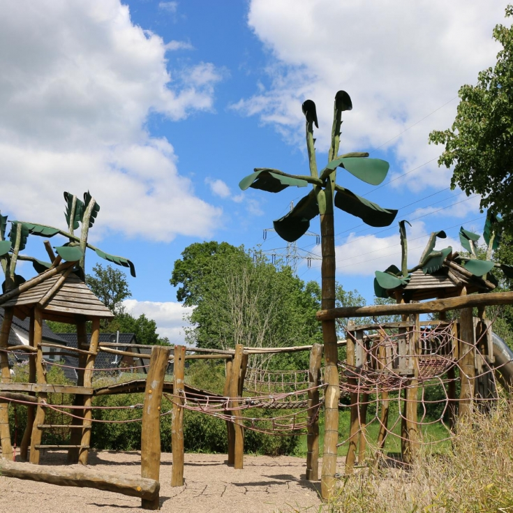 Bild 3: Dschungelspielplatz Kollwitzweg