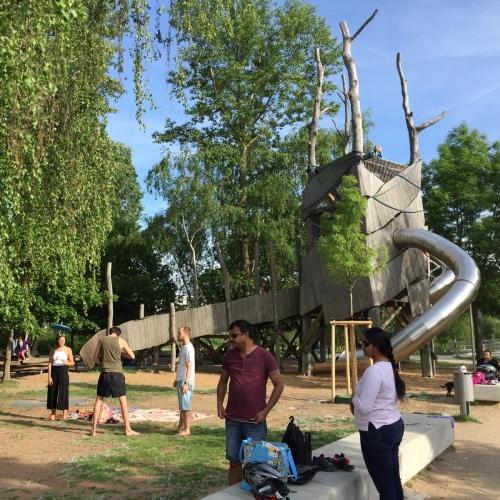 Bild 4: Sams-Spielplatz auf der ERBA-Insel