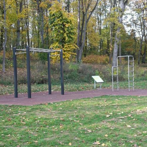 Bild 1: Fitness am Kiessee