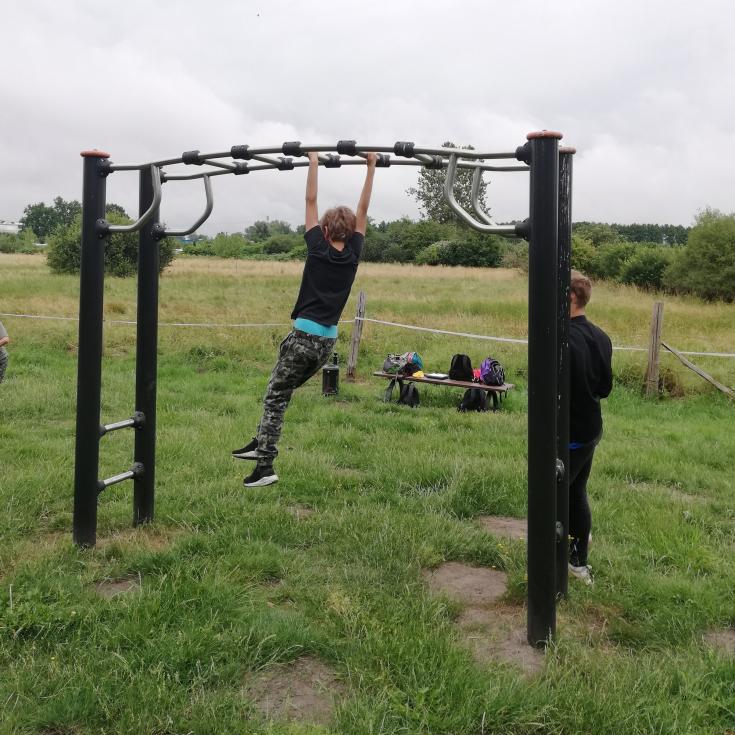 Bild 1: Fitness Parcours