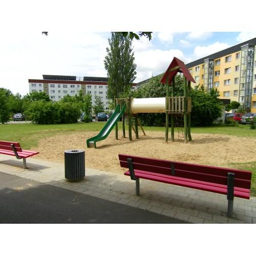 Bild 1: Hermann-Matern-Str. Nähe Bauspielplatz