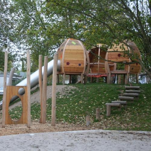 Bild 3: Kinderspielplatz Talheimer Straße