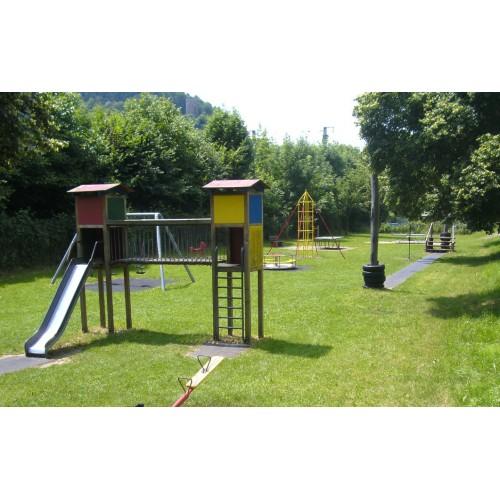 Bild 1: Kinzigdamm Spielplatz