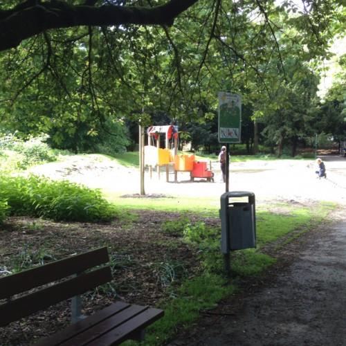 Bild 1: Kleinkinderspielplatz im Westpark