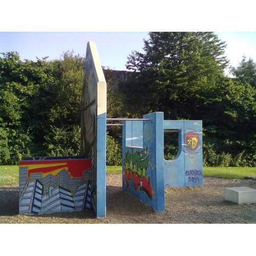 Bild 1: Parkour Park