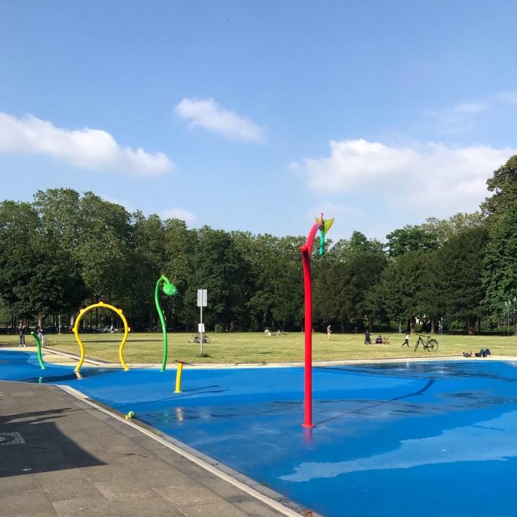 Bild 3: Wasserspielplatz am Grüngürtel