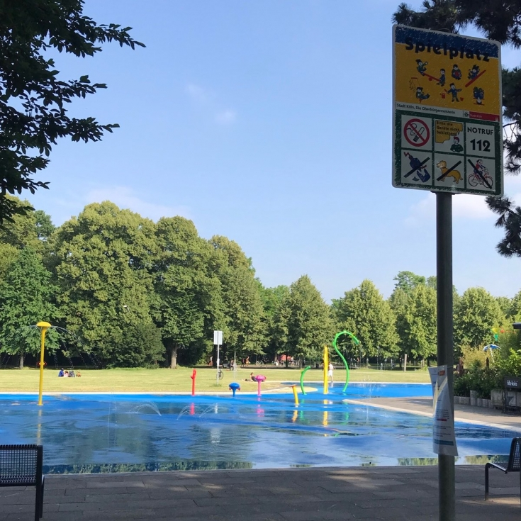 Bild 4: Wasserspielplatz am Grüngürtel