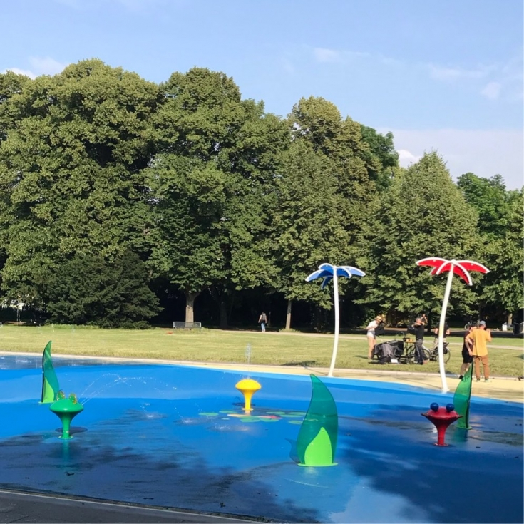 Bild 5: Wasserspielplatz am Grüngürtel