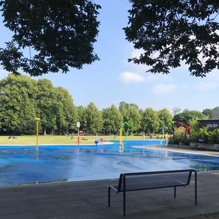 Bild 8: Wasserspielplatz am Grüngürtel