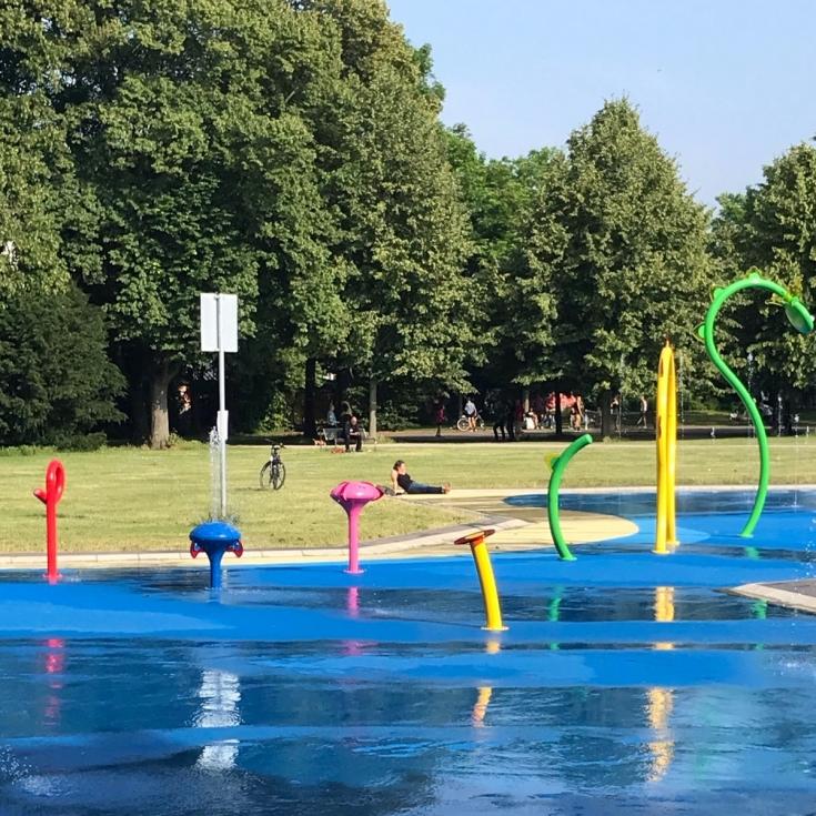 Bild 7: Wasserspielplatz am Grüngürtel