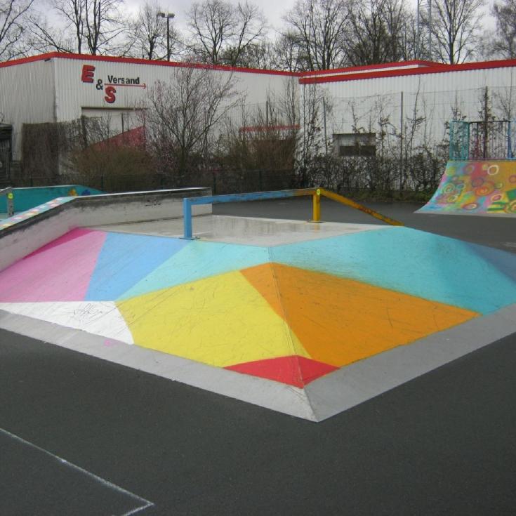 Bild 1: Skate- und BMX-Park Werrestraße