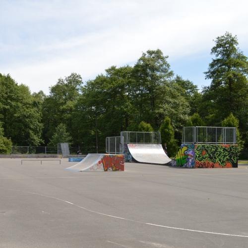 Bild 2: Skaterpark am Rosentunnel