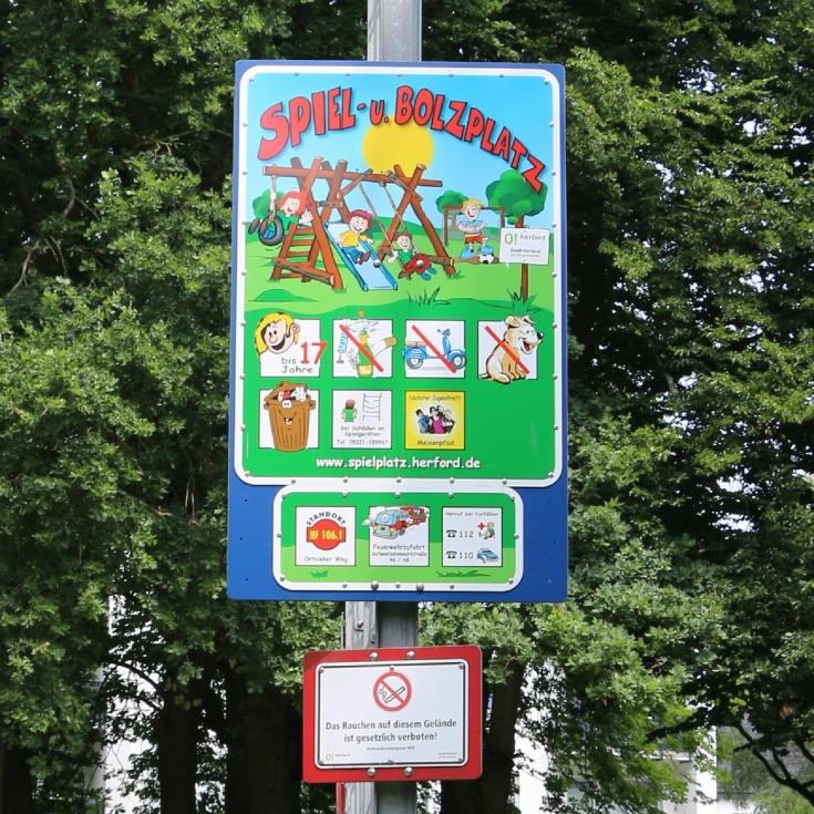 Bild 16: Spiel- und Bolzplatz Ortsieker Weg