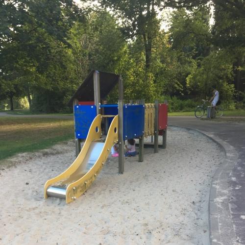 Bild 1: Spielplatz Aasee Westufer