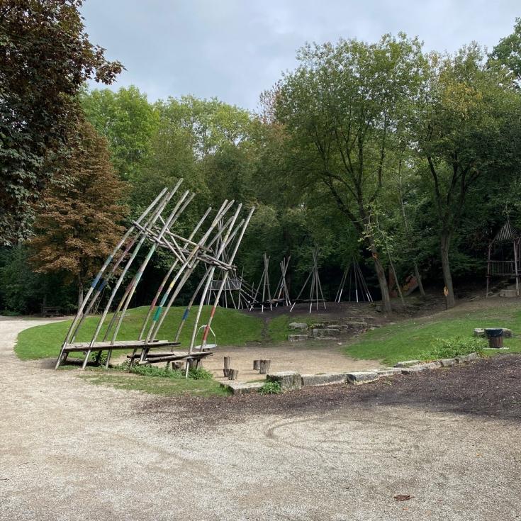 Bild 6: Spielplatz Am Regenbogen im Klenzepark