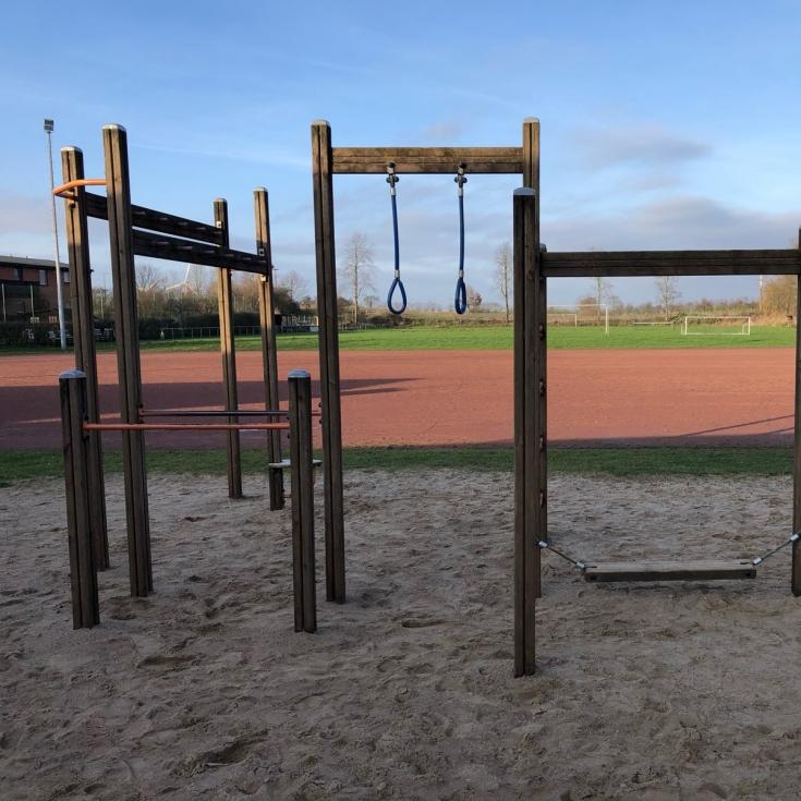 Bild 1: Spielplatz am Sportplatz