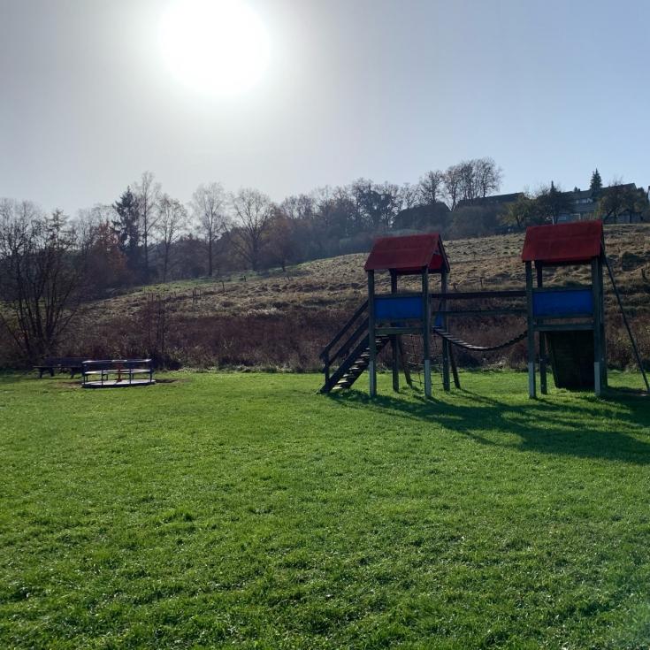 Bild 1: Spielplatz an der Schwarzach