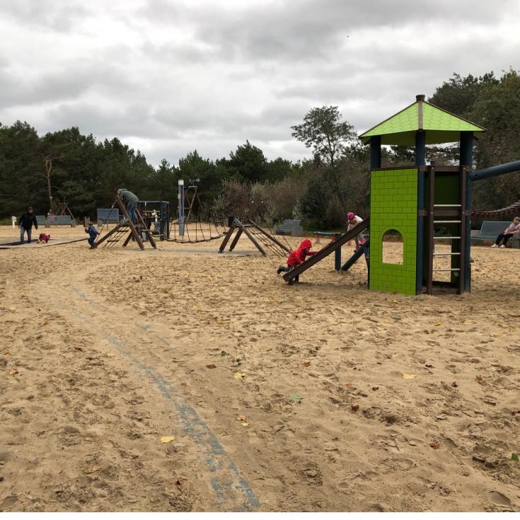 Bild 1: Spielplatz an der Strandpromenade