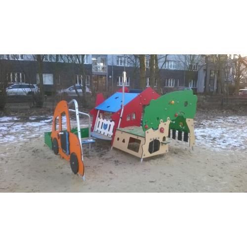 Bild 2: Spielplatz Chorweiler Straße