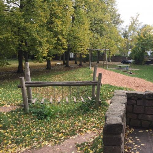 Bild 1: Spielplatz im Schlosspark