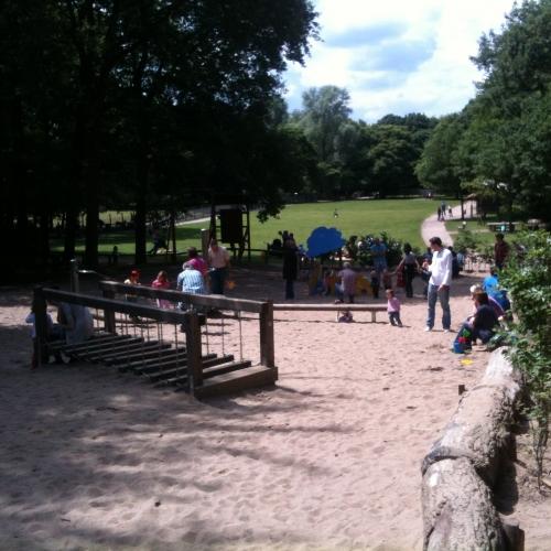 Bild 7: Spielplatz im Tierpark Tannenbusch