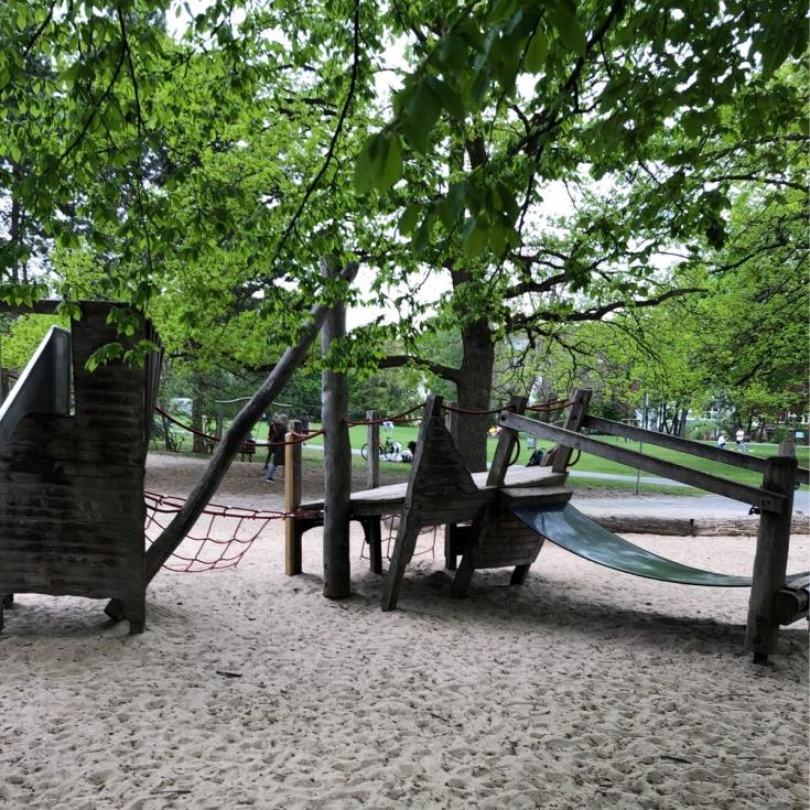 Bild 1: Spielplatz Inselwall