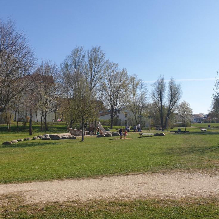 Bild 1: Spielplatz Milanweg
