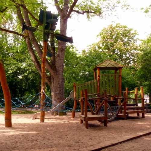 Bild 1: Spielplatz Quäkerwiese