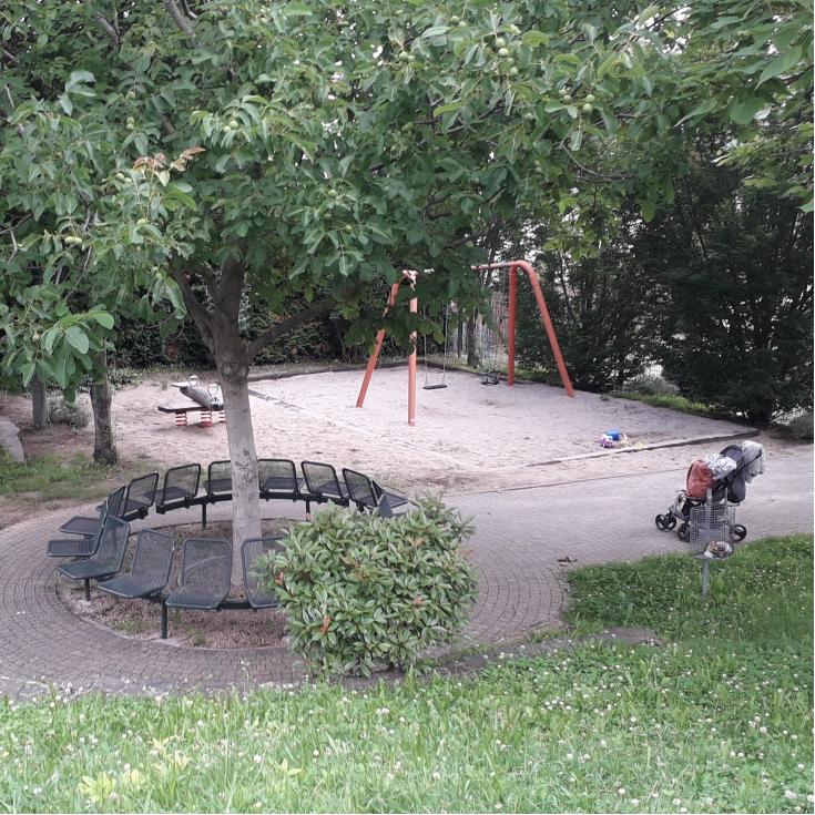 Bild 1: Spielplatz Triftweg