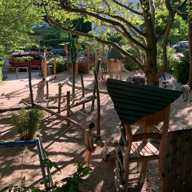 Bild 1: Spielplatz Seestraße