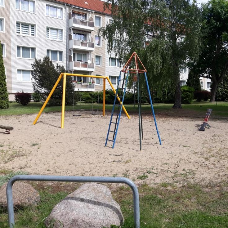 Bild 1: Spielplatz Steinstraße/Baustraße