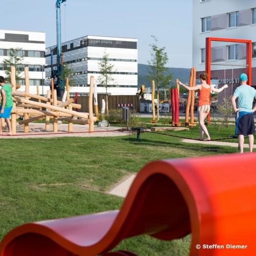 Bild 1: Spielplatz Zollhofgarten