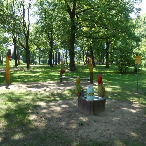 Bild 1: Parkspatzen im Stadtpark