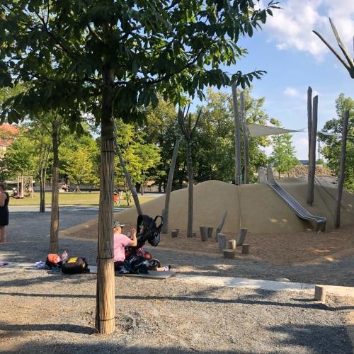 Bild 5: Wasserspielplatz am Hubland