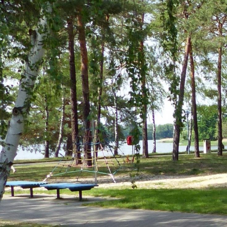 Bild 2: Waldspielplatz am Freibad Großer Müllroser See