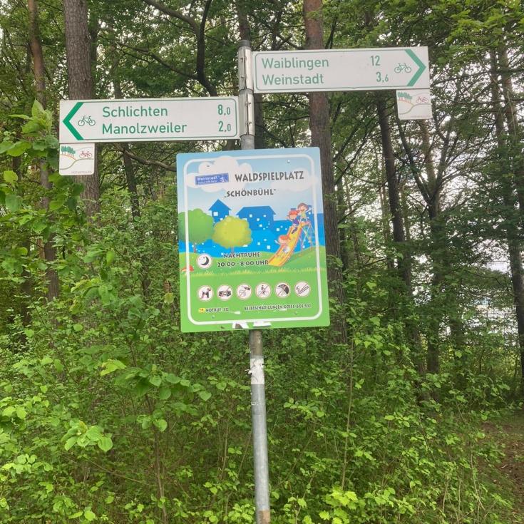 Bild 5: Waldspielplatz Schönbühl