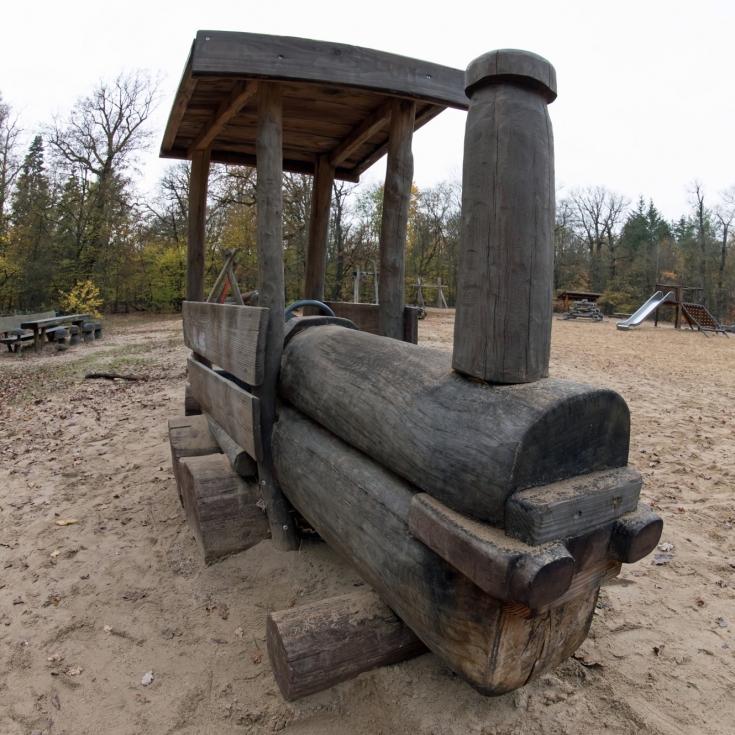 Bild 6: Waldspielplatz Spandauer Forst