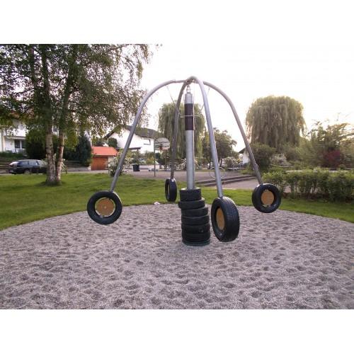 Bild 2: Wannerspielplatz mit Seilbahn