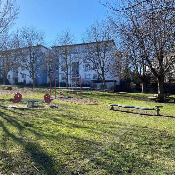 Bild 2: Wasserspielplatz