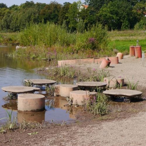 Bild 1: Wasserspielplatz Wilhelminenaue